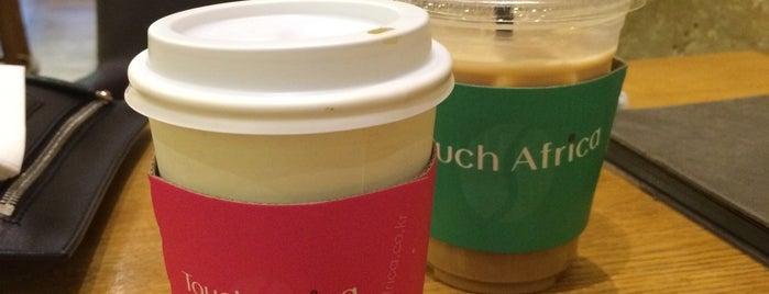 터치아프리카 is one of Coffee Shop-Seoul.