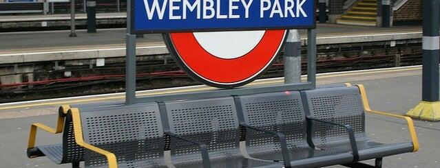 Wembley Park London Underground Station is one of Summer in London/été à Londres.