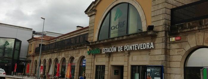 Estación de Tren de Pontevedra   ADIF is one of Tips de los oyentes.