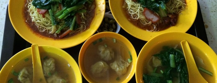 Quan Kee Wanton Noodles 权记云吞面 is one of Hole-in-the-Wall finds by ian thomtori.