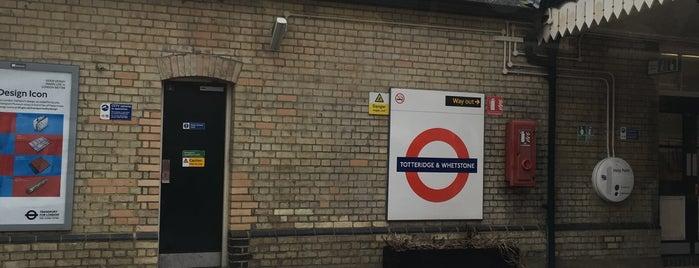 Totteridge & Whetstone London Underground Station is one of Tube Challenge.