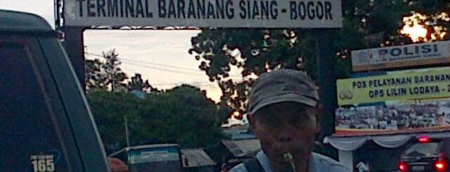 Terminal Baranangsiang is one of Titik Macet di Kota Bogor.