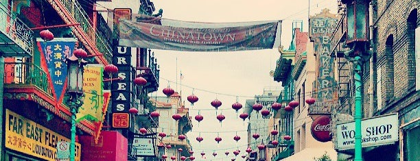 Chinatown is one of Visited places.