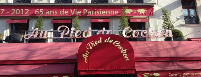 Au Pied de Cochon is one of Paris.