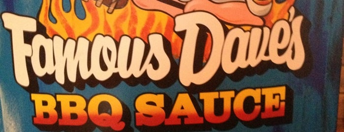 Famous Dave's is one of Good Eats.