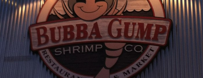 Bubba Gump Shrimp Co is one of Favorite Food.