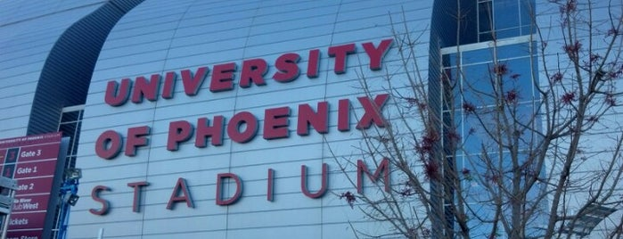 University of Phoenix Stadium is one of Phoenix.