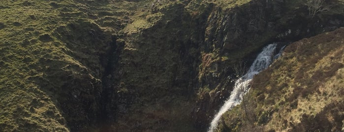 Grey Mare's Tail is one of Guide to Moffat's best spots.