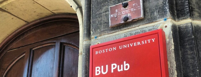 BU Pub is one of Spring Has Sprung!.