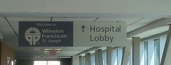 St. Joseph Hospital is one of Milwaukee Area Healthcare.