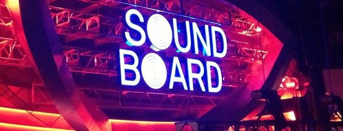 Sound Board is one of Frequent check ins.