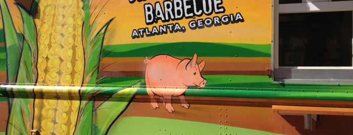 Sweet Auburn Barbeque is one of Food trucks!.