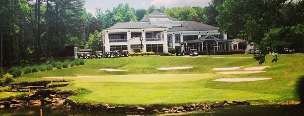 Atlanta National Golf Course is one of 2012 foodie tour.