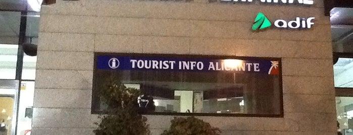 Estació d'Alacant Terminal is one of Alicante urban treasures.