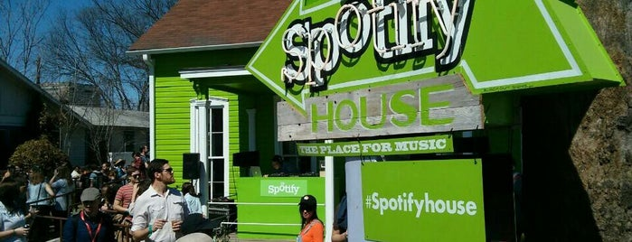Spotify House is one of B. Locations.