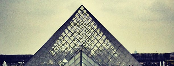 Louvre Pyramid is one of All-time favorites in France.