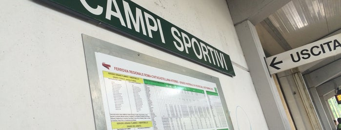 Campi Sportivi (linea Roma Nord) is one of Muoversi a Roma.