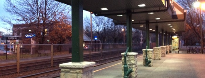 NJT - Radburn Station (MBPJ) is one of New Jersey Transit Train Stations.