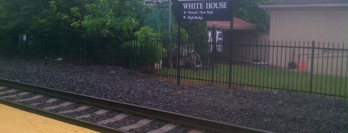 NJT - White House Station (RVL) is one of New Jersey Transit Train Stations.