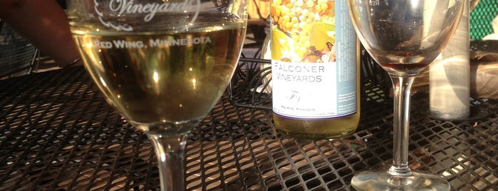Falconer Vineyards is one of Mill City Love.
