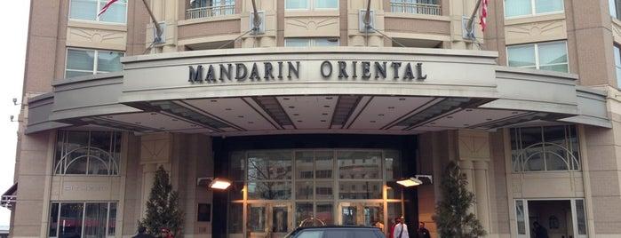 Mandarin Oriental, Washington D.C. is one of T+L's Definitive Guide to Washington D.C..