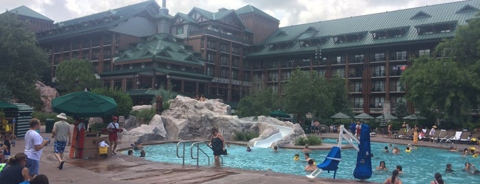 Wilderness Lodge Beach & Playground is one of Playgrounds.