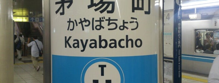 Tozai Line Kayabacho Station (T11) is one of Station.