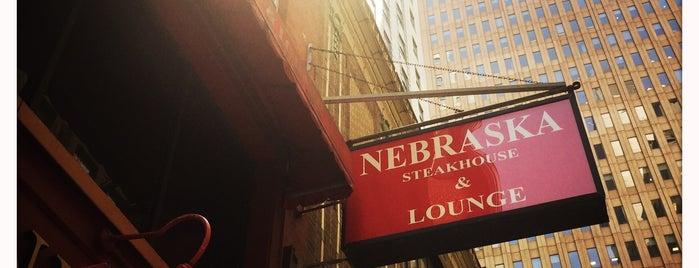 Nebraska Steakhouse is one of FiDi Bars/Restaurants.