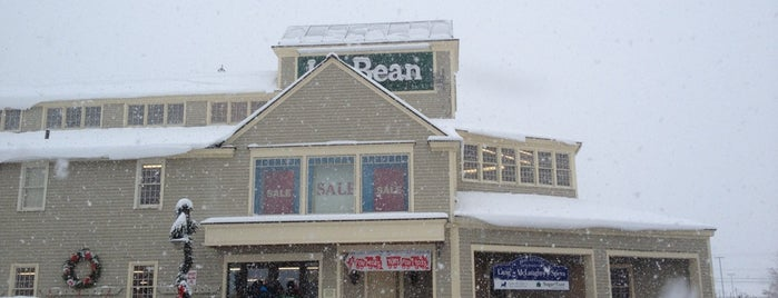 L.L.Bean is one of Out of Town.