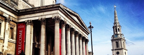 National Gallery is one of London for Terriers.
