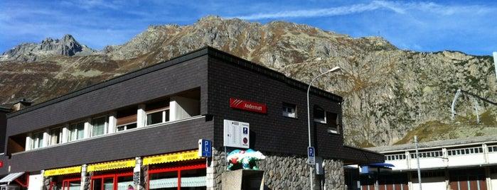 Bahnhof Andermatt is one of Bahnhöfe Top 200 Schweiz.