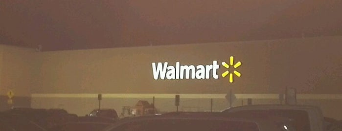 Walmart Supercenter is one of Place's I like.