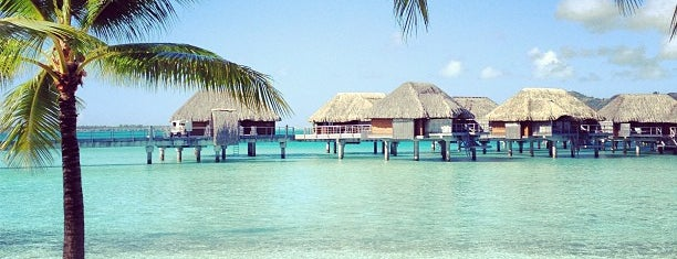 Four Seasons Resort Bora Bora is one of T+ L 500: The Debut Hotels of 2013.