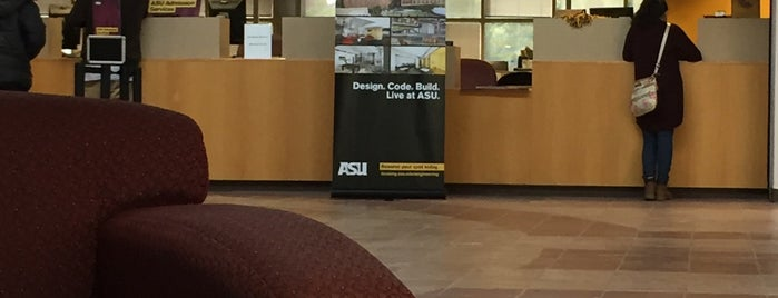 Student Services Building is one of Sun Devil Checklist.