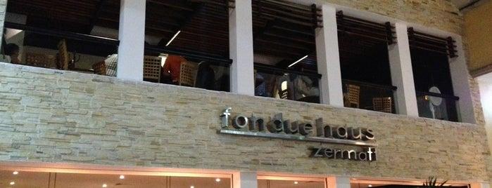 Fondue Haus Zermatt is one of 20 favorite restaurants.