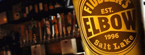 Fiddler's Elbow is one of Utah Sports Bars.