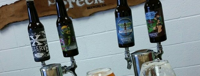 Saucony Creek Craft Brewery + Gastropub is one of Breweries and Brewpubs.