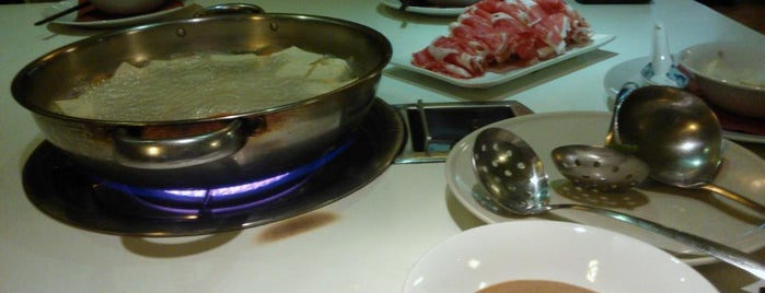 Lou Hot Pot bar is one of Zoltan's tips.