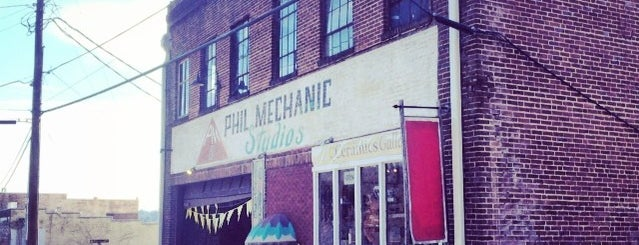 Phil Mechanic Building is one of Asheville All-in-All.