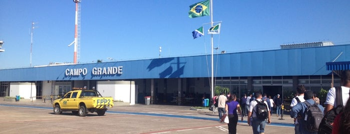 Desembarque is one of Aeroporto Internacional de Campo Grande (CGR).