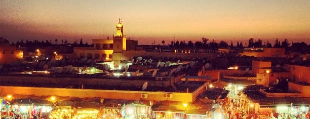 Place Jemaa el-Fna is one of 1,000 Places to See Before You Die - Part 2.