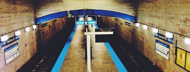 CTA - Logan Square is one of Work route.
