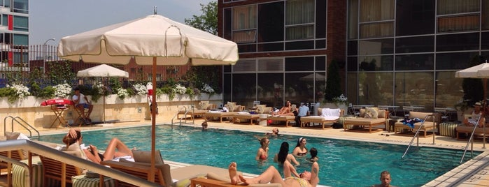 McCarren Hotel and Pool is one of Day Drinking in the Great (NYC) Outdoors.