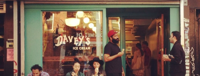 Davey's Ice Cream is one of NYC Sweets.