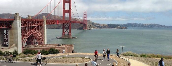 Golden Gate Bridge Pavilion is one of San Francisco.