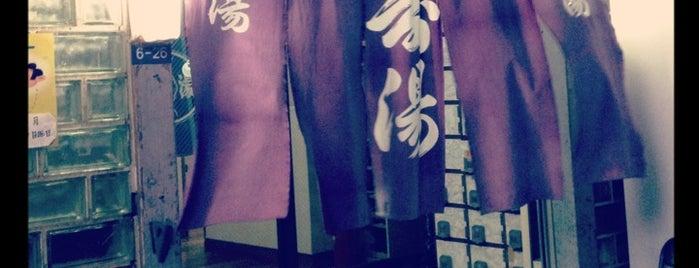 中将湯温泉 泉湯 is one of Tokyo Onsen.