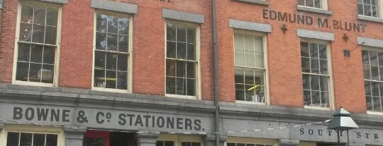 Bowne & Co. Stationers is one of This is my list - MOSS.