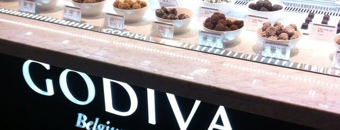 GODIVA is one of Cafe & Bakery.