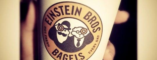 Einstein Bros Bagels is one of Campus Food Hot Spots.