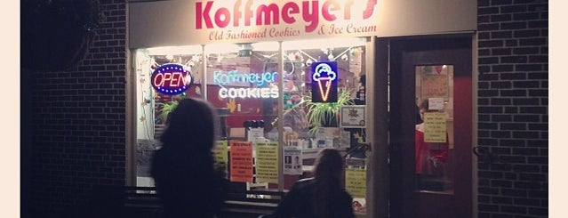 Koffmeyer's Old Fasioned Cookies & Ice Cream is one of Philly.